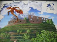 Dragon Staufener Castle