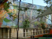 King George V Mural 4