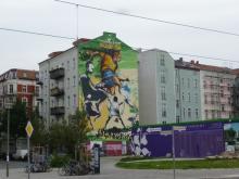 Joga Bonito at Mauerpark